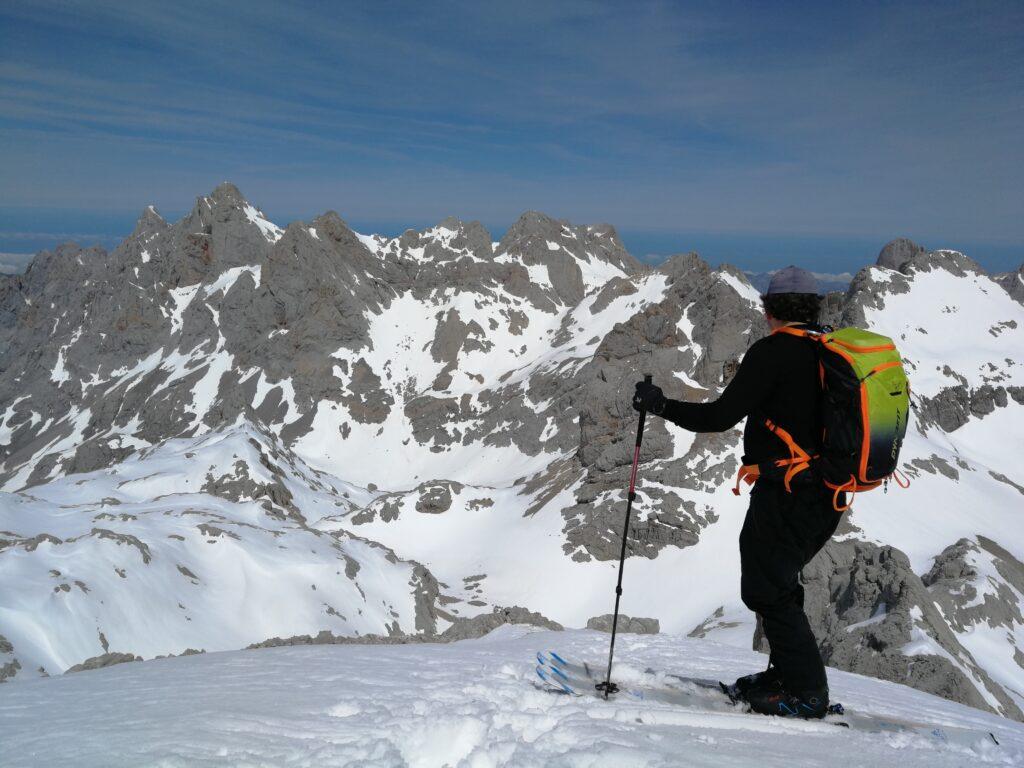 Ski mountain en Picos de Europa
