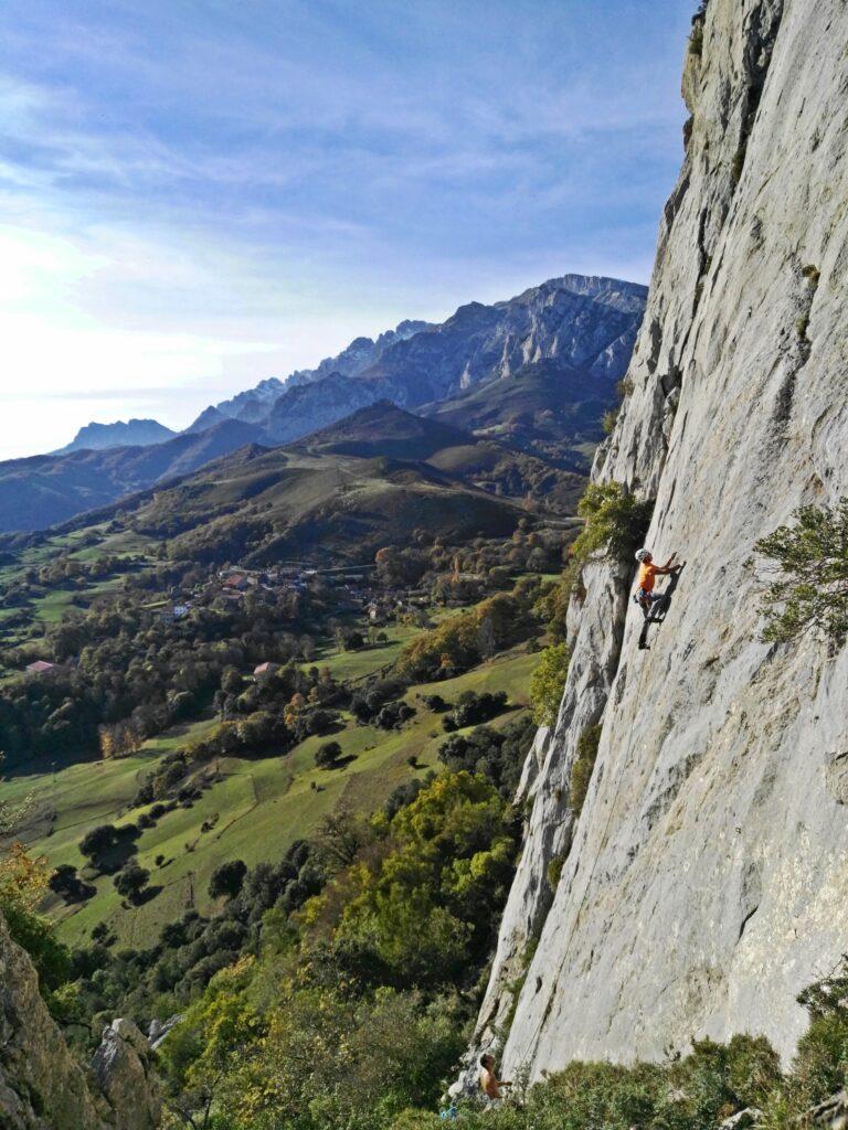 escalada en Valle de Liébana