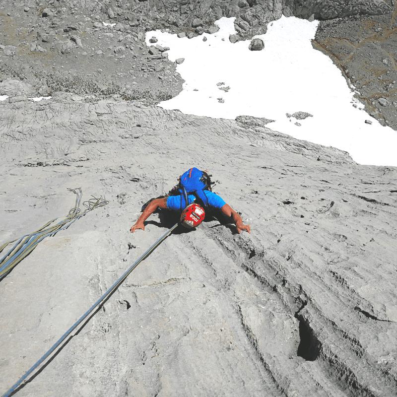 escalada guiada Naranjo