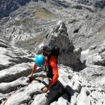 sur de peña santa escalada guiada