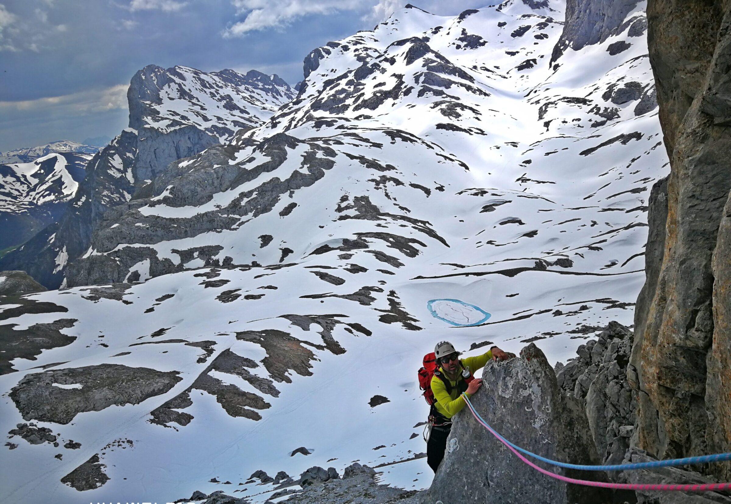 Guía de escalada Picos de Europa