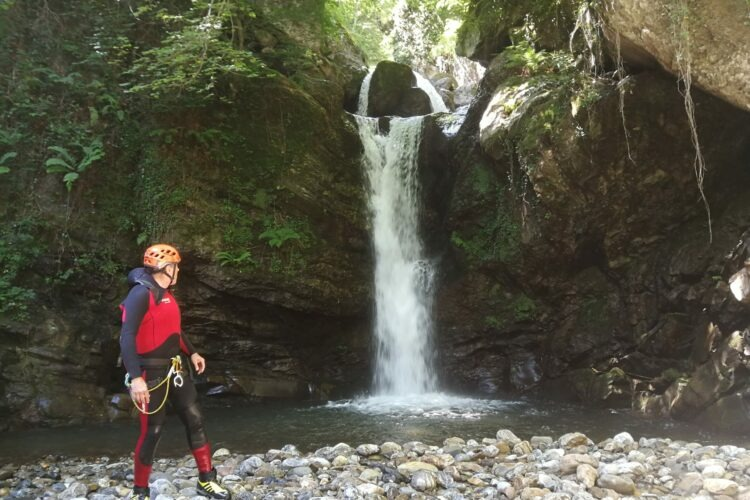 barranquismo Potes descenso barrancos asturias picos de europa actividades