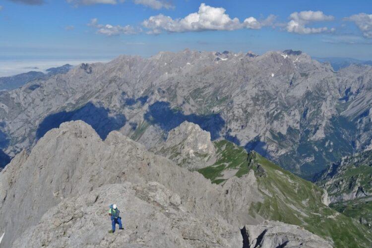 Guía de escalada en Picos de Europa