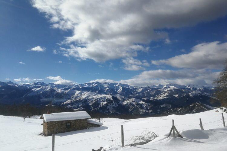 ruta raquetas Picos de Europa